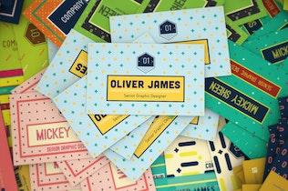 Fun Pattern Business Card