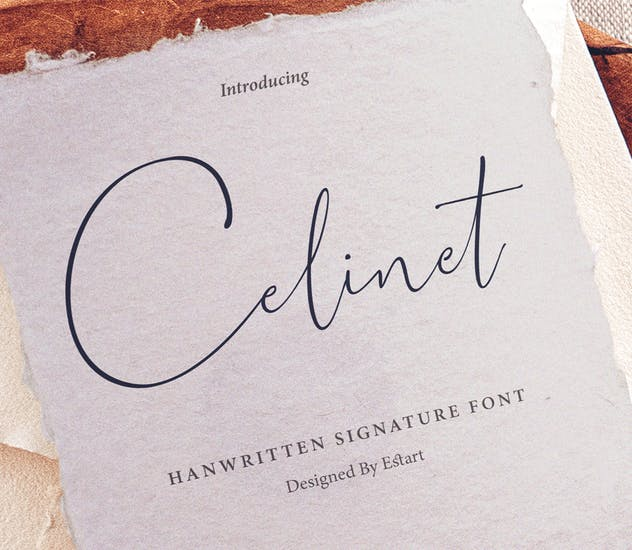 Celinet / Script Font - product preview 0