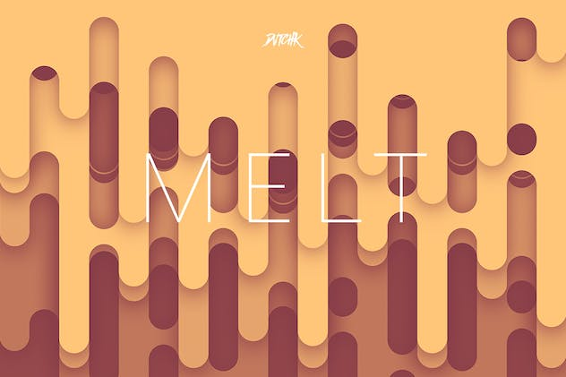 Melt | Abstract Rounded Backgrounds | Vol. 04 - product preview 1