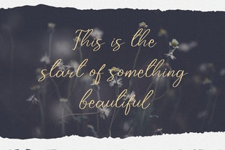 Thumbnail for Zarkafi - The Beauty Script Font