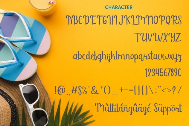 Sunshine Mind - Display Script Font - product preview 8