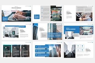 Thumbnail for Ovizer - Company Profile Google Slides Template