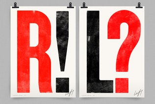 Thumbnail for Brixton SVG - Handprinted Typefamily