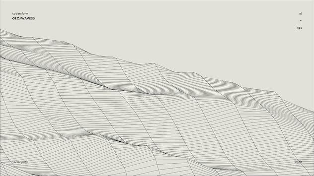 GEO_WAVES5 Vector Pack - product preview 6