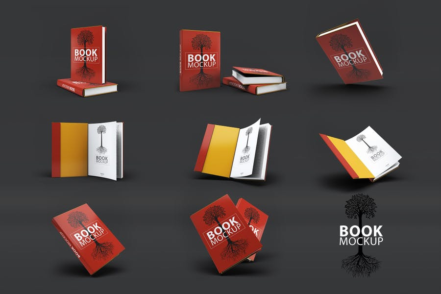 Maquette de livre