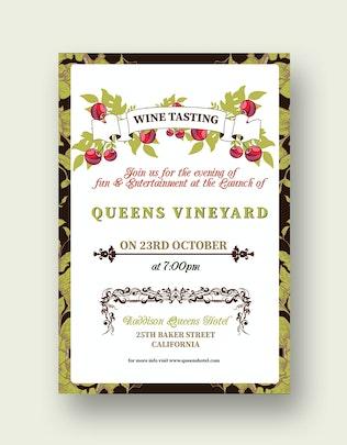 Thumbnail for Wine Tasting Flyer/Poster