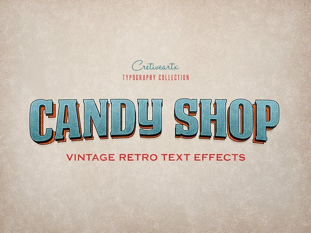 Vintage/Retro Text Effects 7 - product preview 9