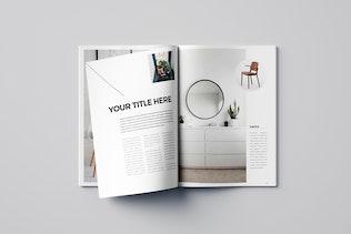 Thumbnail for Simple Minimal Catalog Magazine