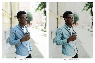 Thumbnail for 20 Faded Film Lightroom Presets and LUTs