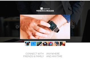 Thumbnail for Ex Watch - Single Product eCommerce PSD