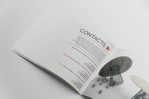 Product Catalogue Template - product preview 1