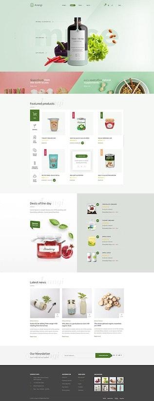 Arangi - Organic Shopify Tema