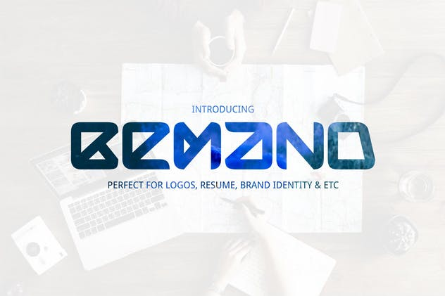 Bemand | A Brand Identity Font - product preview 1