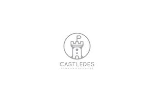 Thumbnail for Castledes Castle Logo Design
