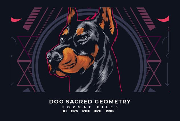 Dog Sacred Geometry