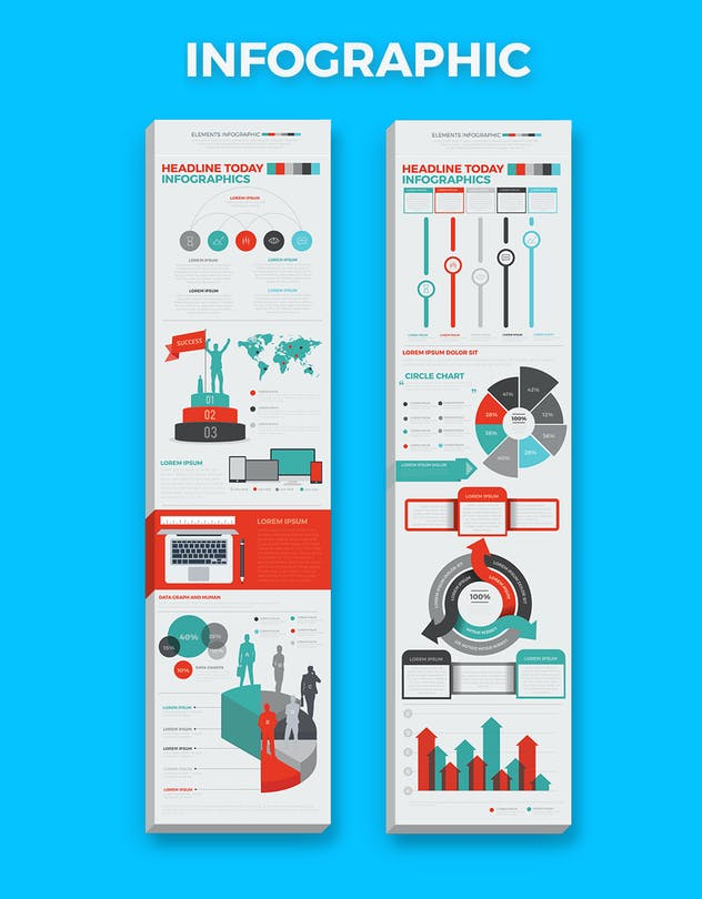 Infographics Elements - product preview 3
