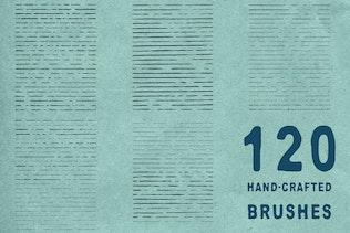 Thumbnail for Ink Age Brushes for Adobe Illustrator