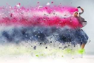 Thumbnail for Tornadum - Powerful Dispersion Photoshop Action