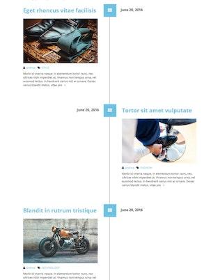 Thumbnail for Timeline for Elementor WordPress Plugin