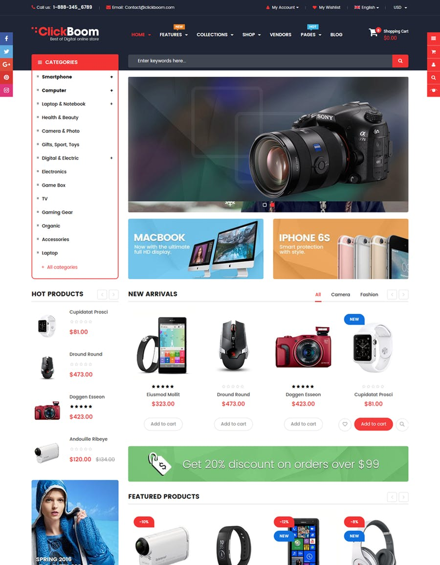 ClickBoom - Responsive Multipurpose Shopify Theme - product preview 3