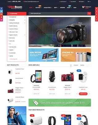 Miniatura para ClickBoom - Responsivo Multifunción Shopify Tema