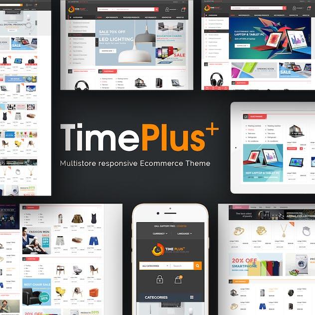 TimePlus - Mega Store Responsive Prestashop Theme - product preview 1