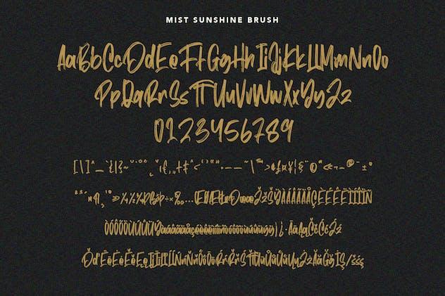 Mist Sunshine Font Bundle - product preview 5