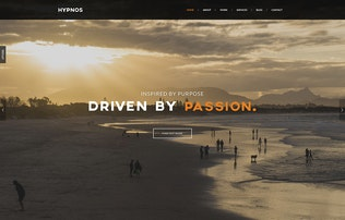 Thumbnail for Hypnos - Responsive Retina Ready HTML5 Template