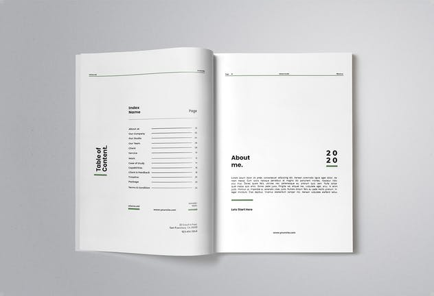 Company Proposal - product preview 1