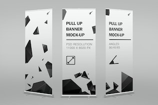 Thumbnail for Pull-Up Banner Stand Mock-Up