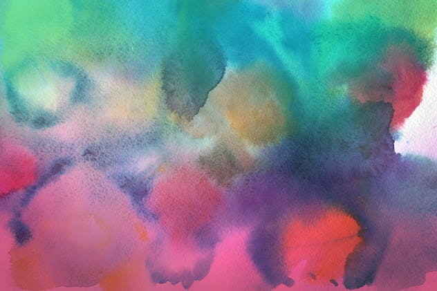 Handmade Watercolor Backgrounds Vol.17 - product preview 1