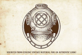 Thumbnail for Finest Vintage - Illustrator Brushes