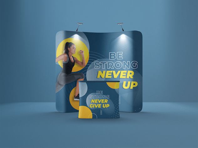 Exhibition Display Mockup - product preview 4
