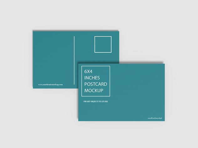 Postcard Mockup - product preview 8