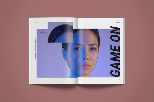 Magazine Template | More - product preview 8