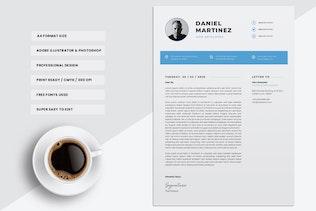 Thumbnail for Professional CV Resume Template Vol. 01