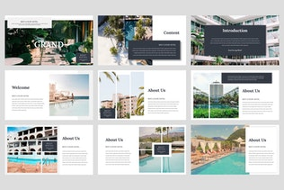 Thumbnail for Grand - Hotel Keynote Template