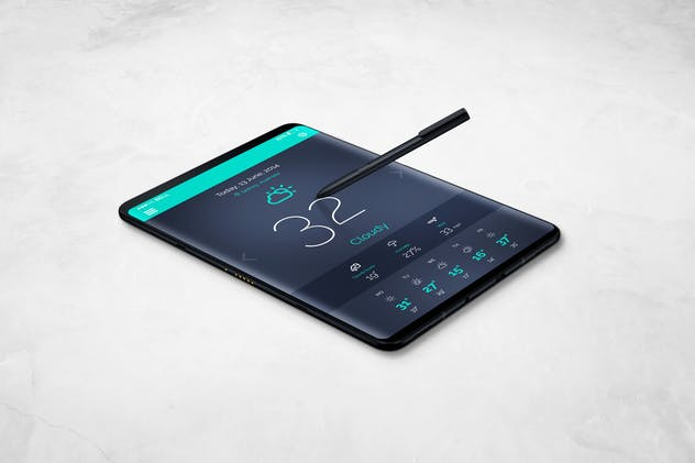 S9 Tablet Mockup - product preview 11