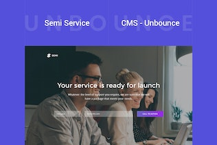 Thumbnail for Semi - Service Unbounce Landing Page