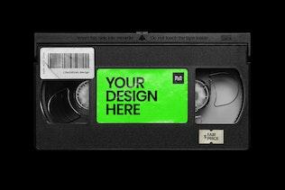 Thumbnail for Video Cassette Mockup