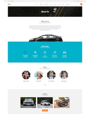 Thumbnail for Car Rental - Creative eCommerce Photoshop Template