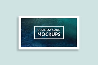 Thumbnail for Simple Business Card Mockups