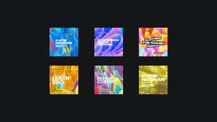 Colorful Typographic Backgrounds