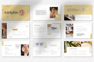 Adelphie  - Jewelry Product Powerpoint Template