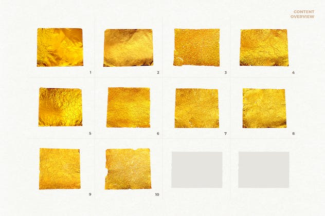 10 Gold Textures Vol. 1 - product preview 1