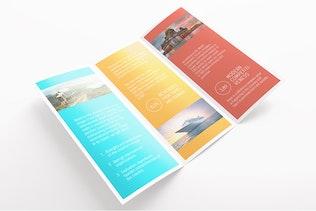 Thumbnail for Tri-Fold Brochure Flyer Mockups