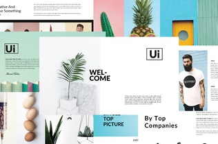 Thumbnail for Ui Business Minimal | Powerpoint Templates