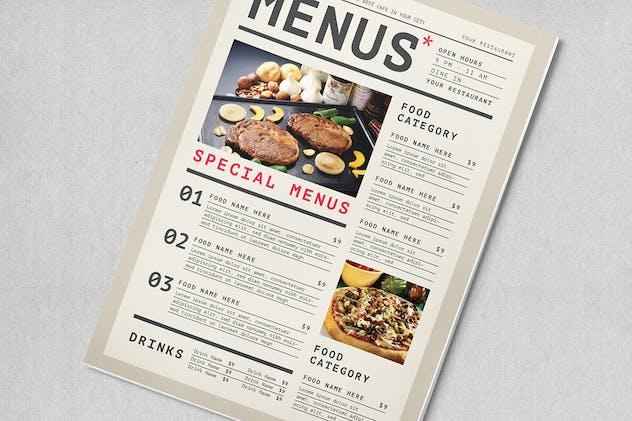 Simple Food Menus - product preview 2