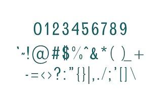 Miniatura para Brendon Sans Con serifa Tipo de letra