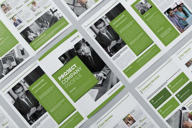 Business Marketing Company Profile - product preview 2
